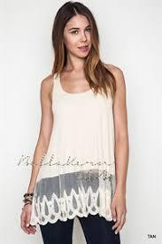 umgee tan tank long slip dress extender lace trim layering vintage