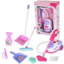 kit de cuisine enfant chirstmas cadeau pour enfants outil de nettoyage jouet aspirateur de