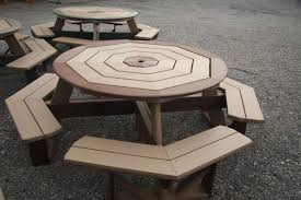 Poly Picnic Tables by Air Hill Lawn Furniture And Playsets