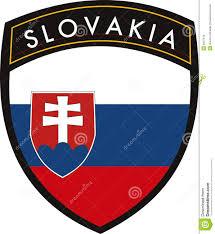 Slovak Flag Slovakia Flag Stock Vector Illustration Of Blue Label 9047676
