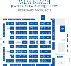 Auto Dealer Floor Plan Floorplan Palm Beach Jewelry Art U0026 Antique Show