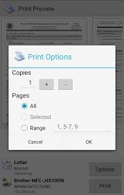 how to print on android mobile print printershare android apps on play