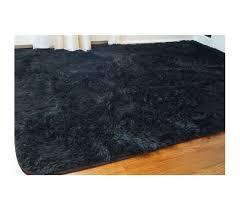 Plush Floor Rugs Softest Floor College Plush Rug Black Dorm Floor Decor Supplies