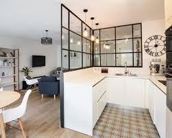 taille moyenne cuisine exemple d une cuisine scandinave en u de taille moyenne avec un