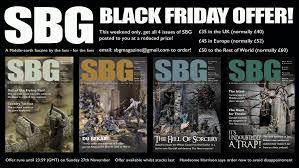 black friday magazine the sbg magazine team put together a hobbity black friday gift