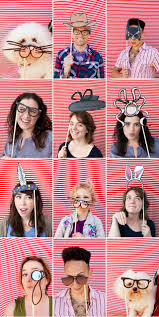 diy photo booth props the ultimate list