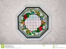 home decor stained glass window stock photo image 44265974