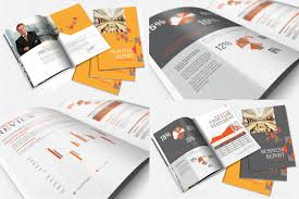 brochure templates free indesign 25 annual report brochure templates