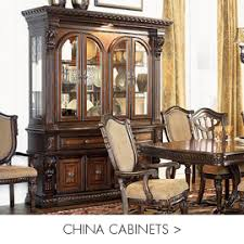 China Cabinet And Dining Room Set Dining Room Furniture Chicago Illinois Indiana The Roomplace