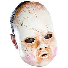 halloween doll costumes adults amazon com disguise costumes baby doll mask clothing