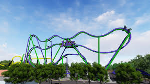 Six Flags Oh Joker 4d Coaster Opening At Six Flags Great America 2017 Coaster101