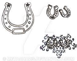 horseshoe tattoo by metacharis on deviantart