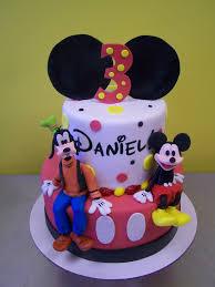 mickey mouse and goofy birthday cake le u0027 bakery
