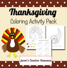 free thanksgiving coloring pages educational printables
