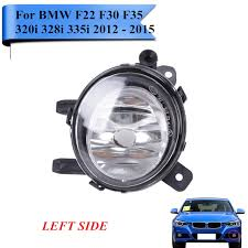 bmw f30 fog light bulb left front bumper fog light for bmw f35 f30 f22 320i 328i 335i 3