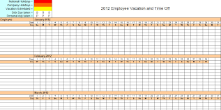 Employee Vacation Accrual Spreadsheet Vacation Accrual Spreadsheet Template Calendar Template 2017