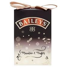 baileys gift set baileys miniature and truffle gift set tesco groceries