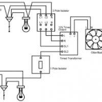 wiring diagram of an extractor fan yondo tech