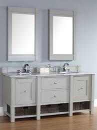 abstron 72 inch dove grey finish bathroom vanity stone countertop