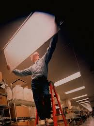 High Efficiency Fluorescent Light Fixtures Replacing Improved High Efficiency Pictures Getty Images