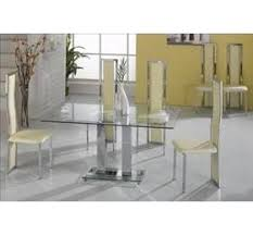 Large Glass Dining Tables Glass Dining Sets