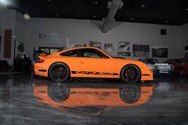 orange porsche 911 gt3 rs 2007 porsche 911 gt3 rs u2013 only 530 miles sold road scholars