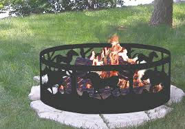 amazon black friday fire pits 64 off cobraco horse silhouette campfire ring
