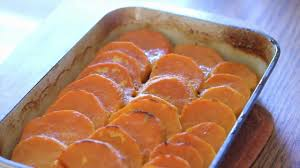 how to make roasted orange sweet potatoes for thanksgiving