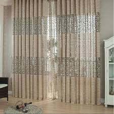 online get cheap net curtain aliexpress com alibaba group 2pcs jacquard flower pattern net curtains for window elegant curtains for living room the sun