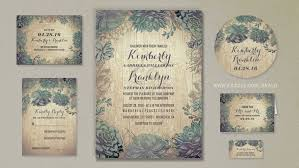 succulent wedding invitations read more rustic succulents wedding invitations wedding
