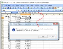 asap utilities for excel changes in version 4 6 4 november 3