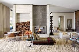 Fireplace Ideas And Fireplace Designs Photos Architectural Digest - Living room designs with fireplace
