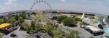 Ocean City Maryland Map Jolly Roger Amusement Park Ocean City Maryland