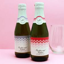 wholesale sparkling cider chevron sparkling cider mini bottles 12 pcs new wedding favors