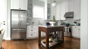 alder wood alpine amesbury door kitchen island stainless steel