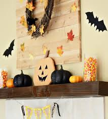 easy halloween mantel decorations meatloaf and melodrama