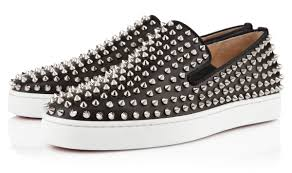 christian louboutin u0027s roller boat flat sneakers available online