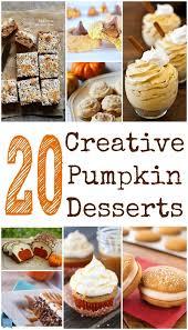 20 non traditional pumpkin dessert recipes child at