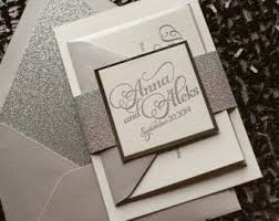silver wedding invitations glitter wedding invitations wedding definition ideas