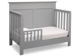 Gray Convertible Crib Fall River 4 In 1 Convertible Crib Delta Children