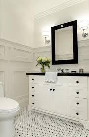 black and white bathroom tiles ideas bathroom with black and white tile floor redmagonline com
