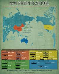 Map Of The Asia by Naval Power In The Asia Pacific 1 0