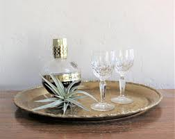 Brass Tray Table Brass Tray Table Etsy