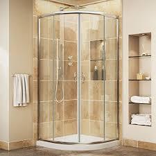 quarter round shower doors amazon com