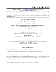 Rn Case Manager Resume Enterprise Risk Management Resume Free Resume Example And