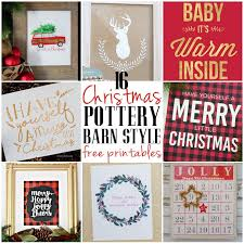 Joy Pottery Barn Knock Off 16 Free Pottery Barn Style Knock Off Christmas Printables Bren Did