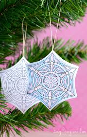 printable christmas ornaments to color easy peasy and fun