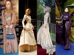 modest and fashionable prom dresses with hijab for you hijabiworld