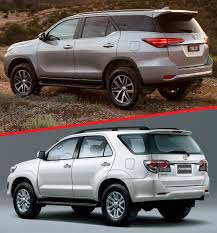 fortuner comparison toyota fortuner second gen vs first gen pakwheels blog