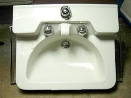 porcelain wall mount sink crane drexel wall mounted sink 1950s